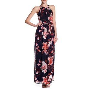 Eliza J Women's Floral Halter Maxi Dress